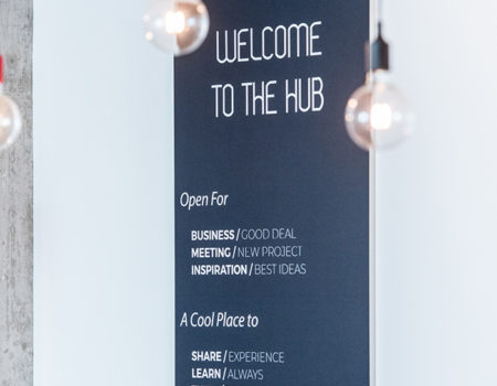 HUB / ESPACE LOUNGE